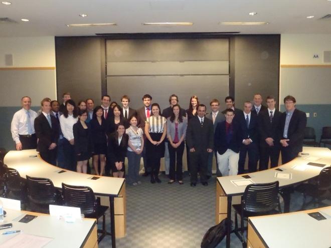 UTC Case Competition Participants
