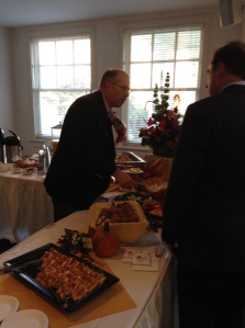 Catering provided a delicious and locally sourced breakfast!