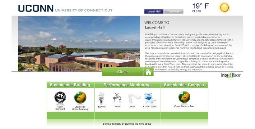 Green Touchscreen Screenshot (Widgets)