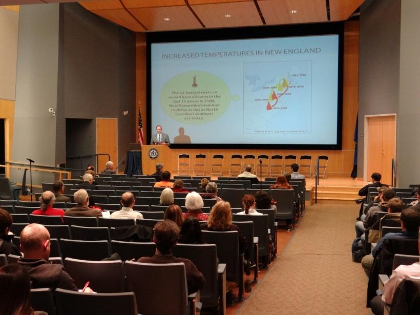 Keynote Address Curt Spalding. Photo by Eric Grulke