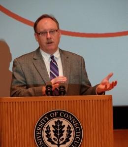 EPA Region 1 Administrator Curt Spalding. Photo by Eric Grulke