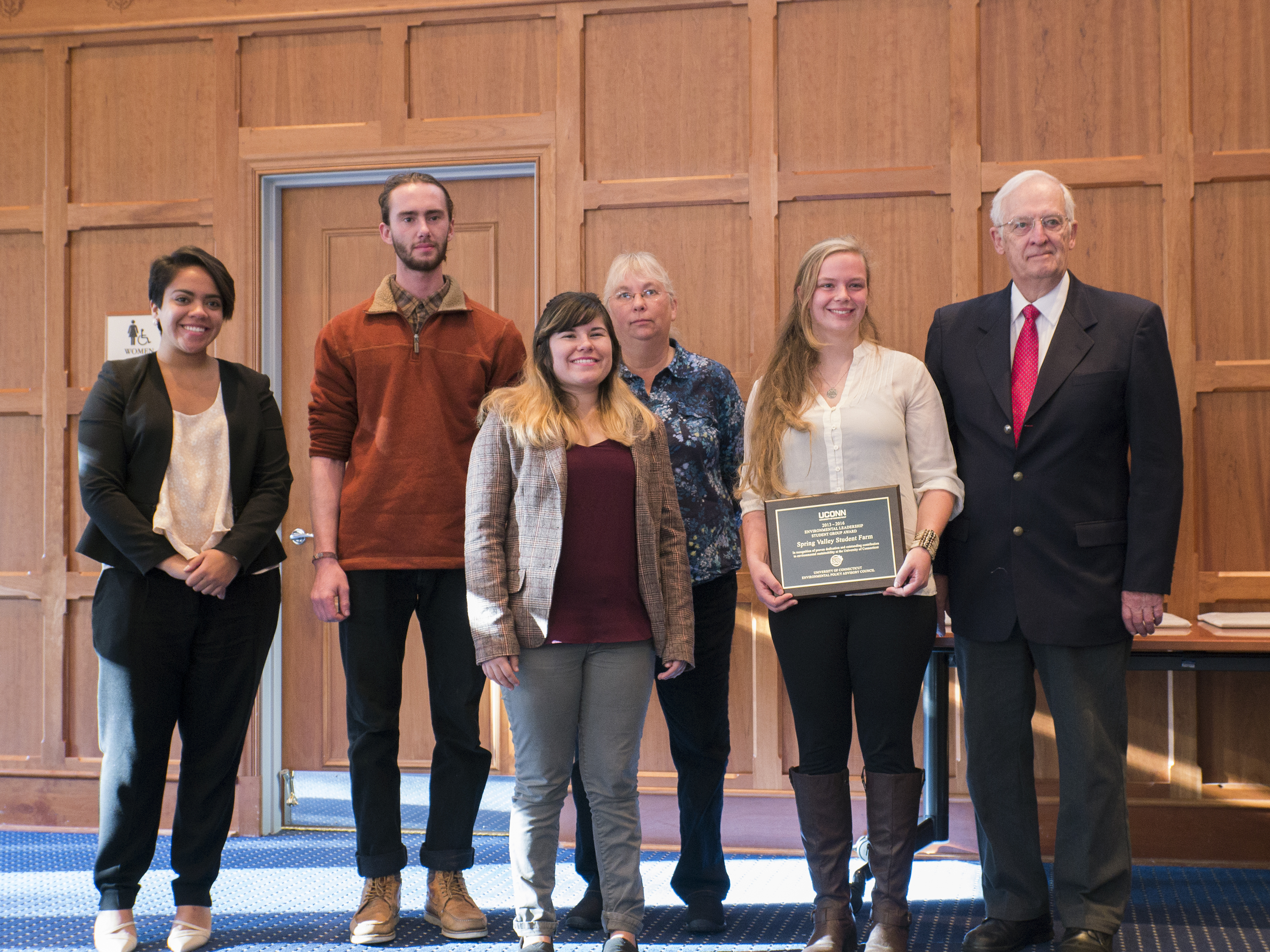 Environmental Leadership Awards at UConn