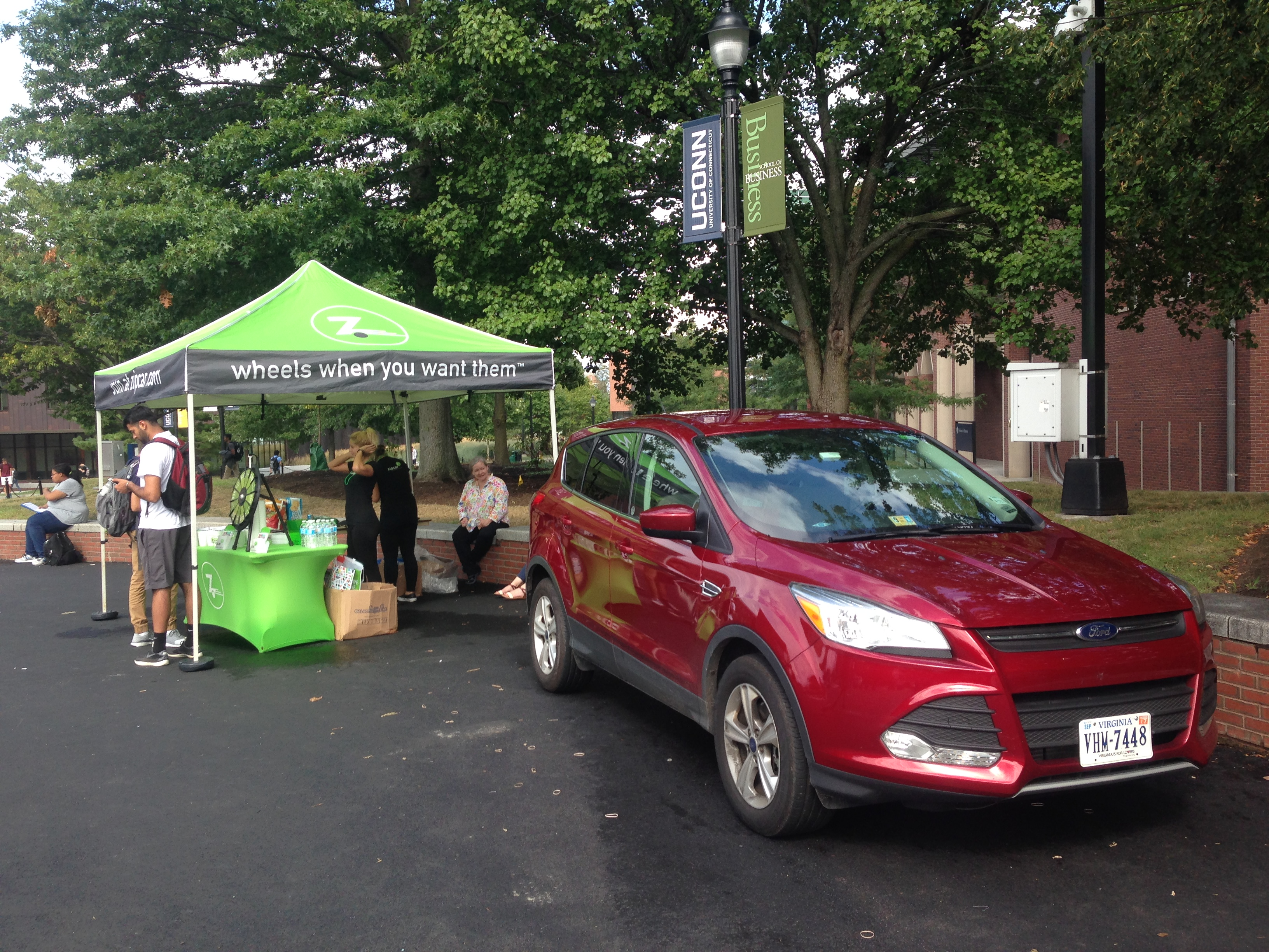 Zipcar Arrives At Uconn Office Of Sustainability